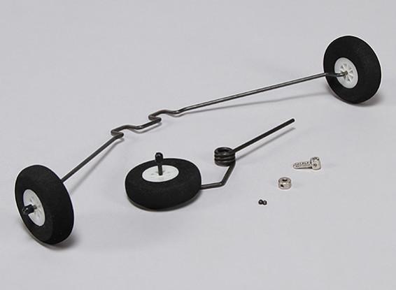 Hobbykingクラブトレーナー1265ミリメートル - 交換用ランディングギアセット