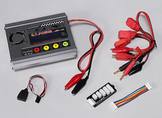 GT A-6-10 200Wバランス充電器&放電器