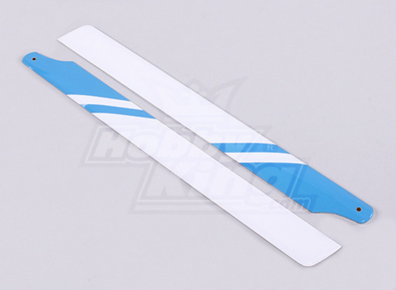 325ミリメートルグラスファイバーメインブレード(ブルー/ホワイト)