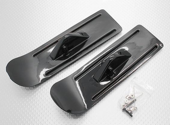 モデル飛行機用の車台雪スキー
