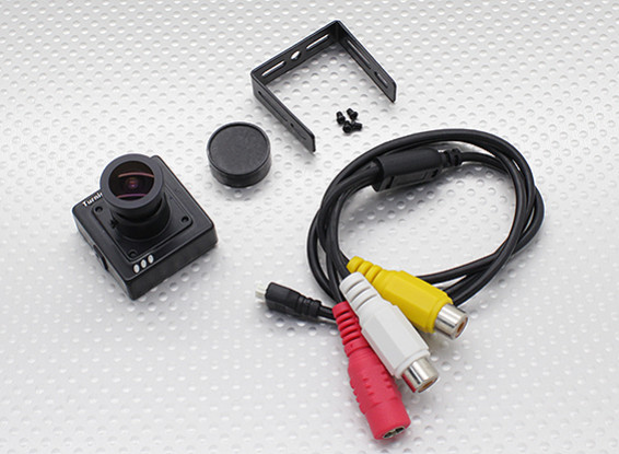 TurnigyマイクロFPVカメラ700TVL(PAL)Exview 960HのCCD