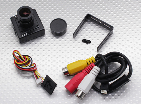 TurnigyマイクロFPVカメラ700TVL(NTSC)Exview 960HのCCD