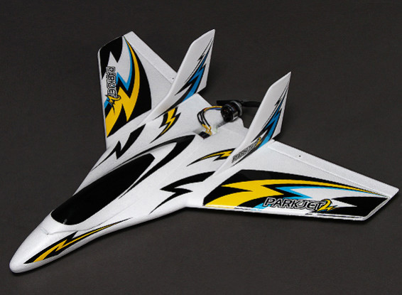 3軸フライトスタビライザーEPO 550ミリメートル(モード1)(RTF)でParkjet 2高速ウィング