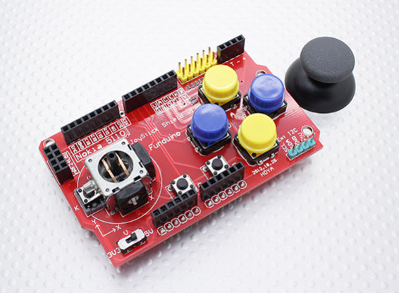 Kingduino互換性のあるジョイスティックシールドV1拡張ボード