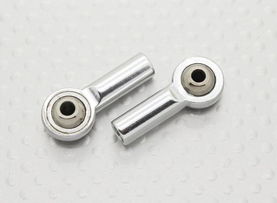 金属ボールジョイント(左ねじ)M4×26ミリメートル×3ミリメートル -  2個