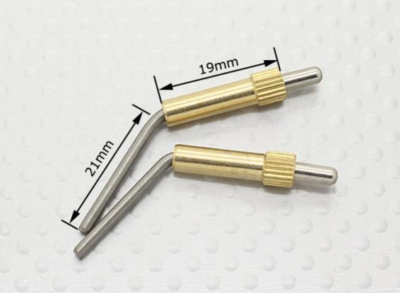 ブラスキャノピーロックL40mm  -  2個