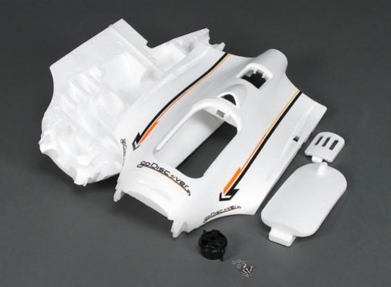 HobbyKingゴーディスカバーFPV 1600ミリメートル - モーターマウント/ワット交換胴体