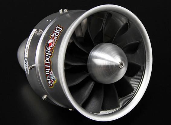 2350ワット(6S) - 博士マッドは90ミリメートル12ブレード合金のEDF 1550kvスラスト