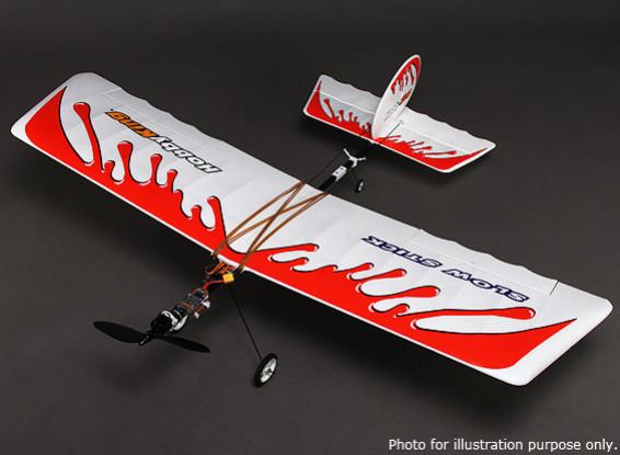 Hobbyking®™スロースティックブラシレスパワード飛行機EPO /炭素繊維1160ミリメートル(ARF)