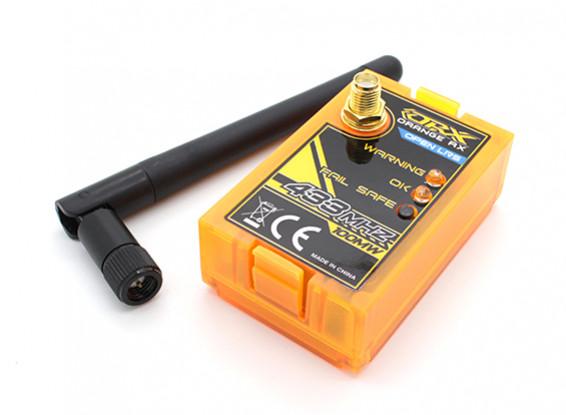 OrangeRXオープンLRS 433MHzのトランスミッタの100mW(双葉ラジオとの互換性)