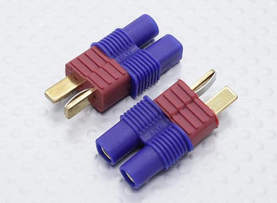 EC3電池アダプターのリードにT-コネクタ(2PC)