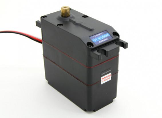 Turnigy TGY-SM-8166R 360°アナログメタルギアロボットサーボ33キロ/ 47RPM / 160グラム