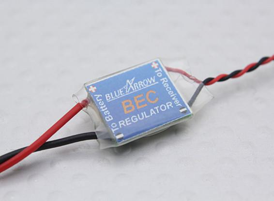 青い矢印超小型自動電圧レギュレータ5V / 1A DC出力