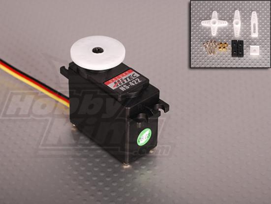 ハイテックHS-422デラックスサーボ3.3キロ/ 0.21sec / 45グラム