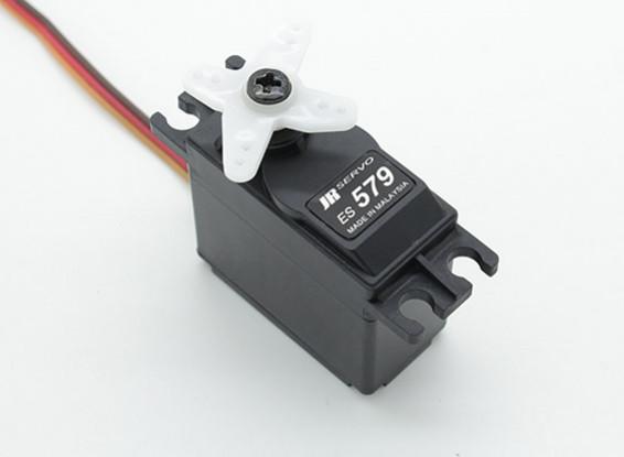 メタルギア8.3キロ/ 0.23sec / 48グラムとJR ES579ハイトルク標準アナログサーボ