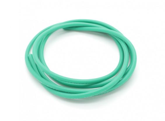 Turnigyピュアシリコーンワイヤー16AWG 1メートル(緑)
