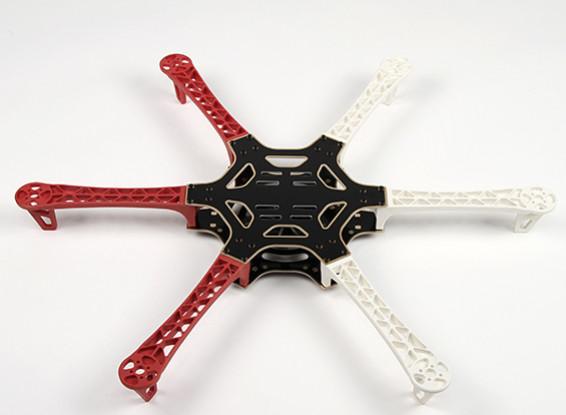 H550 V3ガラス繊維Hexcopterフレーム550ミリメートル - 統合されたPCBバージョン