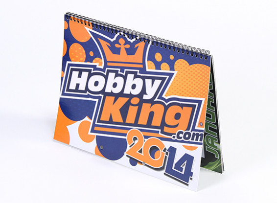 2014 HobbyKingカレンダー
