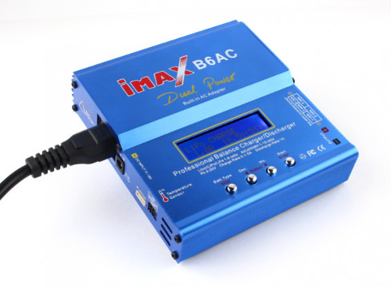 IMAXのB6-AC充電器/放電器1-6細胞