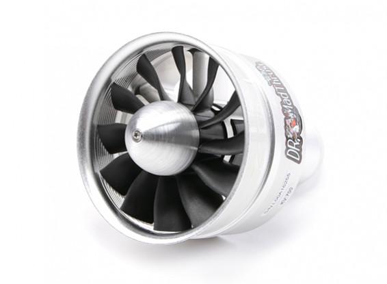 博士マッドは90ミリメートル12ブレード合金EDFの700kvスラスト -  3800ワット(12S)(カウンター回転)