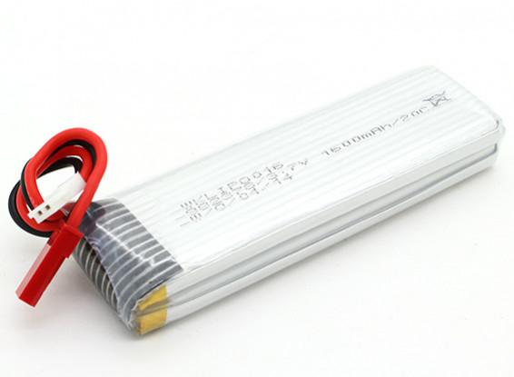 QR Y100のためのWalkera 3.7V 1600mAh LiPoly交換用バッテリー