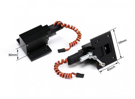 Turnigy 100度回転ツイストは、n 2.5M / 15キロウォーバーズのための撤回を回し
