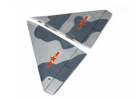 HobbyKing™J-10激しいドラゴン956ミリメートル - 交換用ウイングセット