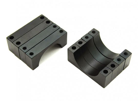 ブラックアルマイトCNC 4.5ミリメートルアルミチューブクランプ20ミリメートル径