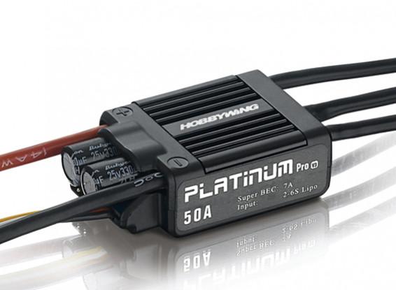 Hobbywingプラチナ50A V3ブラシレスESC 7A BEC /ワット
