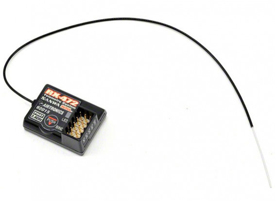 三和/ AIRTRONICS RX-472 2.4GHzの4CH FH4Tスーパーレスポンスレシーバワット/三和同期リンク(SSL)