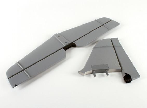 Quanumオブザーバーの1980ミリメートル - テールセット