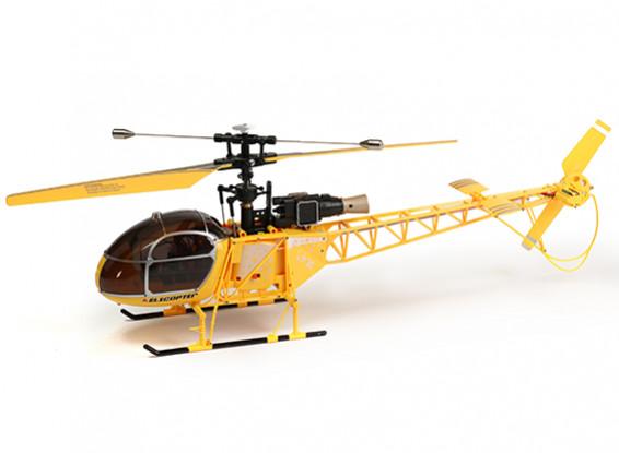 WLToys V915 2.4G 4CHヘリコプター(飛ぶために準備完了) - イエロー