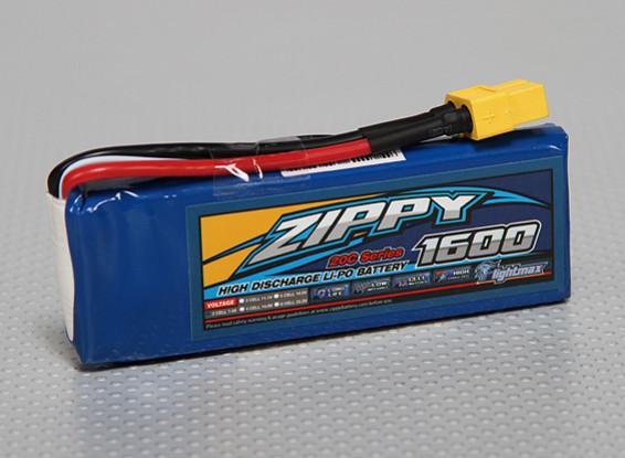 ジッピーFlightmax 1600mAh 2S1P 20C