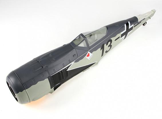 HobbyKing™フォッケウルフFW-190 1600ミリメートル - 胴体