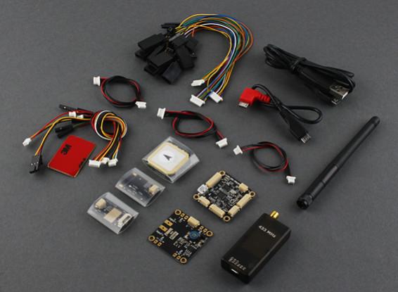 OSDを有するマイクロHKPilotメガマスターセット、GPS、テレメトリラジオ、PDB / BEC /パワー・センサ(433MHzの)(APM)