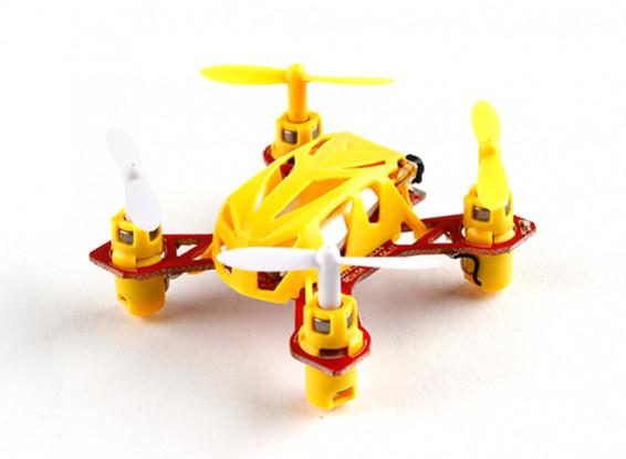 WLToys V272 2.4G 4CHクワッドローターイエロー色(フライする準備ができました)(モード2)