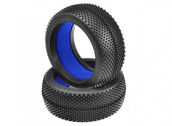 JCONCEPTSブラックジャケット1/8バギータイヤ - ブルー(ソフト)化合物