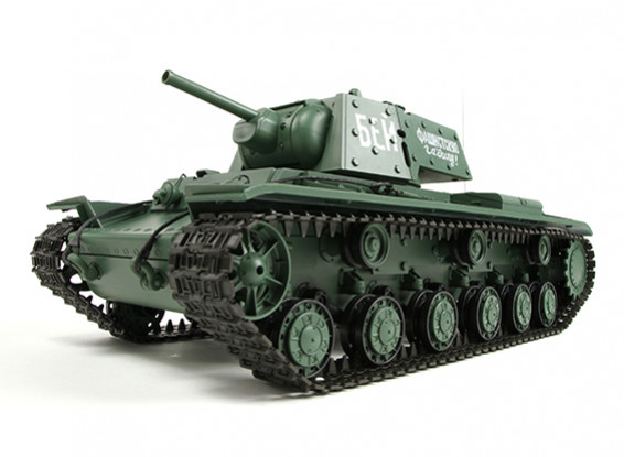 KV-1S Ehkranami RCタンクRTRワット/エアガン/スモーク&のTx(EUプラグ)(EU倉庫)