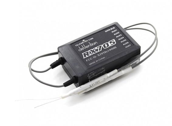 WalkeraのタリH500  - 交換RX705 FCC承認レシーバー(H500-Z-15)