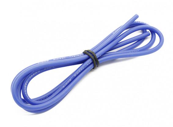 Turnigy高品質14AWGシリコンワイヤー1メートル(ブルー)