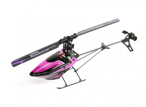 WLおもちゃV944スカイボイジャーCCPM 6チャンネルフライバーレスヘリコプター2.4GHzのフライの準備完了