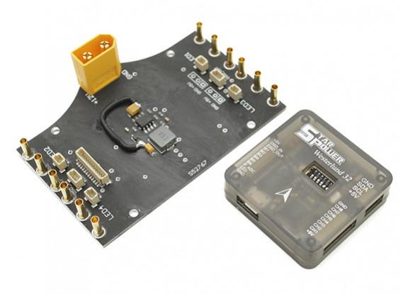 スターパワー5V電源は、ステップダウンとウェスター32フライト・コントロール・ユニット。