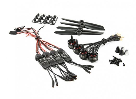 LDPOWER D150 Multicopter電源システムMT1306-3100kv(4×4.5)(4パック)