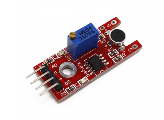 ArduinoのためキーズKY-038ボイスサウンドセンサモジュール