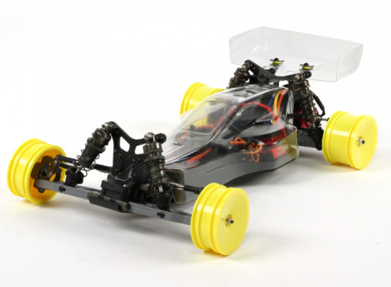 BZ-222 Proは、1/10 2WDレーシングバギー(ARRバージョン)