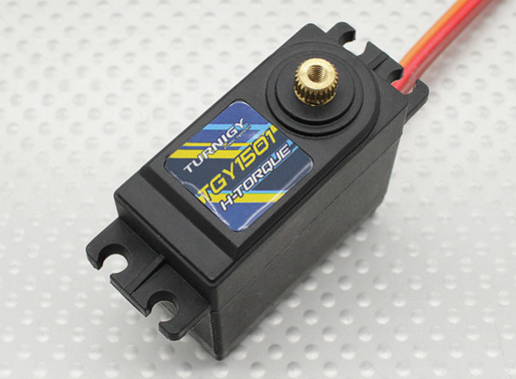 Turnigyメタルギアサーボ60グラム/ 15.5キロ/ .16sec(卸売ゴムのみの1000pcsマウント/袋)