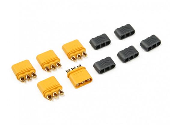 MR30  -  2.0ミリメートルESCコネクタ(30A)オス3ピンモーターのみ(5セット/袋)