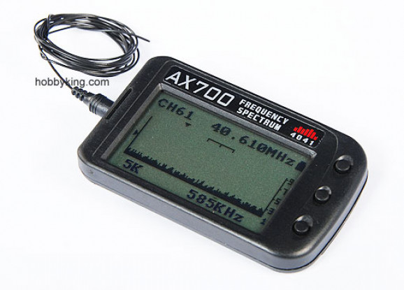 MKS AX700 72〜75MHzの周波数スキャナ