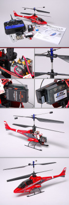 E-FLITE BladeCX2同軸ヘリコプター&5CH 2.4GHzのTX&RX(モード2)