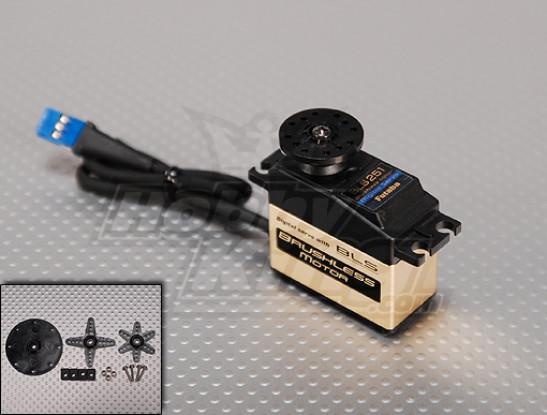 フタバBLS251デジタルブラシレスヘリラダーサーボ3.8キロ/ .06sec / 61グラム